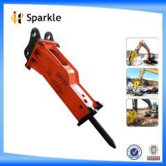 Mini silent box hydraulic hammers