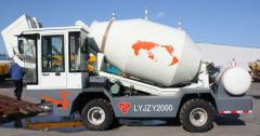 3.5CBM self loading mobile concrete mixer