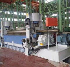 3-roller Hydraulic symmetric plate rolling machine