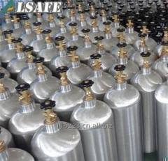 0.5L to 50L HP Aluminium CO2 cylinder