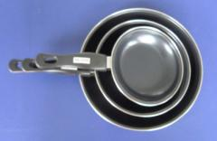 3pcs frying pan 0.4