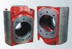 Mud pump spare part crosshead and fluid end module