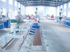 Hot sellng exported PVC profile extrusion line