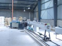 Exported plastic PPR pipe making machine