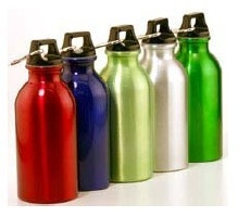 Aluminum Sport bottle 500 ml wide