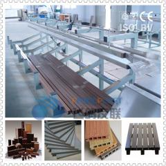 Profile panel WPC production line