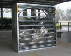 Poultry ventilation fan system