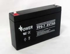 6V7AH security battery