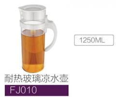 Borocillate glass kettle FJ010