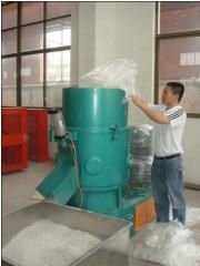 Polymer Agglomerator Plastic granule machine