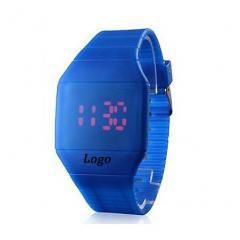 LED rubber wrist watch