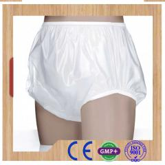 White PVC adult plastic Pants