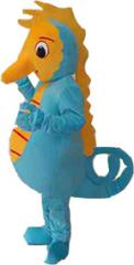 Sea horse mascot costume, mascot costumes,Cartoon characters costumes, party costumes