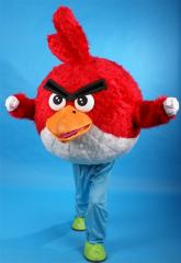 Angry birds,Cartoon character costume Mascot,Plush cartoon character mascot character