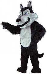 Wolf Plush animal costume mascot suit, theme party costumes