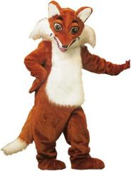 Little Fox mascot costume,Plush animal costumes,Advertising mascot costume,Custom costume