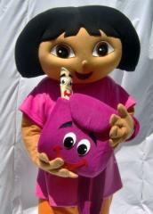 Dora cartoon disney characters Halloween costumes