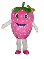 Straberry fruit mascot costumes,theme Park costumes,party costumes,mascot suit exhibition