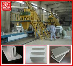 Equipment for the production of foam blocks