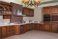 Beautiful design wood kitchen cabinet