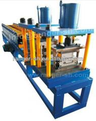 Equipment for the production of facade profiles