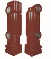 Embedded pole for 12kv circuit breaker