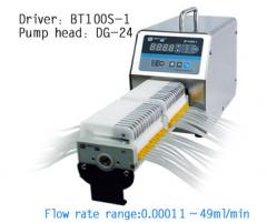 BT100S-1 Speed variable peristaltic pump, large