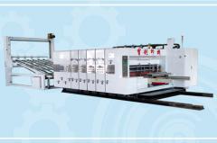 Fully automatic printer slotter machine