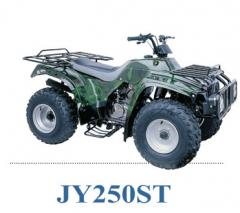 Motor cross-country vehicle