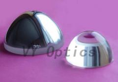 Optical aspherical lens for optical instruments
