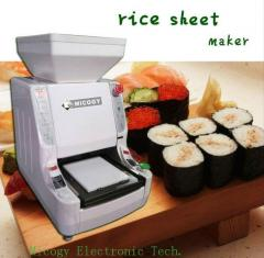 Automatic sushi rice sheet machine