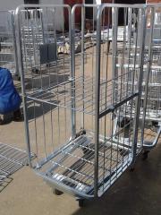 Welding self-propelled carts