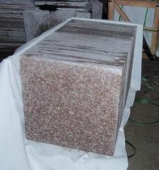 Polished granite tiles G687