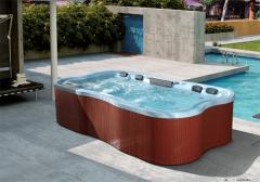 Outdoor spa bathtub price/massage bathtub M3219-D