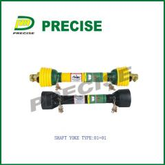 Drive shaft for agricultural machinery