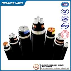 XLPE insulated power cable with rated voltage up