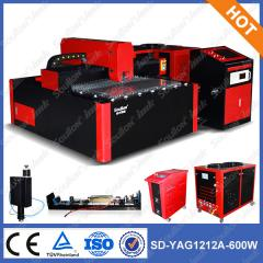 YAG1212-600W metal laser cutting machine