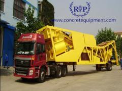 Mobile concrete batching plant YHZSJ series