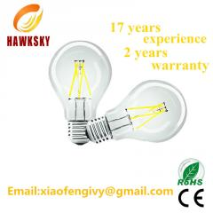 2014 New Product E27 LED filament bulb