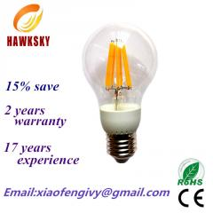 High power LED filament bulb from factory,