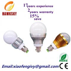 Factory Power saving, aluminium hot sale, led bulb