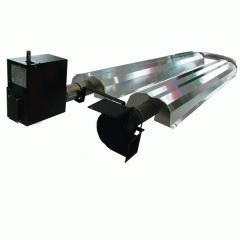 Winch barrels, brake, magnetic