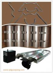 Industrial infrared gas heaters