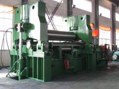 Machine tools bending roller