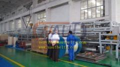 Scraping chain conveyers (granulators)