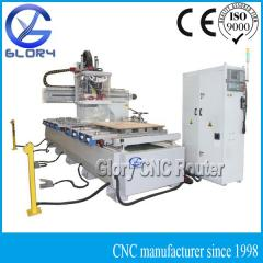 Vacuum Block Table High Level ATC CNC Router, with