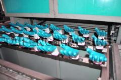 Glove half-full dipping machine
