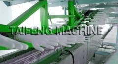 Dipping latex glove machine