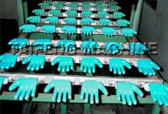 Glove coating Machine