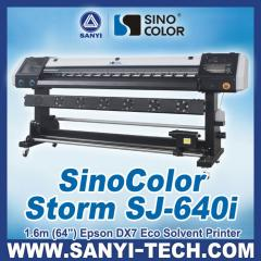 1.6m Epson DX7 Eco Solvent Printer, 2880dpi,Photo